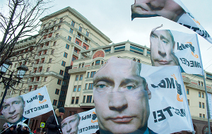 Рейтинги Путина остаются на максимуме