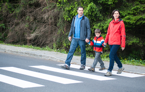 Пешеходов обязали носить светоотражатели