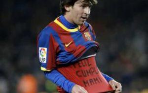Месси забил четырехсотый гол за «Барселону»