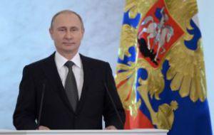 Путин в пятнадцатый раз стал «Человеком года» в России
