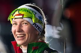 Биатлонистка Домрачева выиграла индивидуальную гонку на Кубке мира