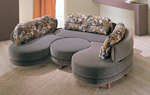 Выбор мягкой модульной мебели