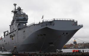 Вертолетоносец «Мистраль» взят под охрану морской пехотой из Хабаровска