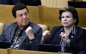 В Госдуме выступили в защиту попавшего под санкции Кобзона