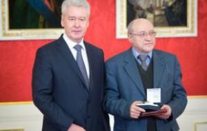 Сергей Собянин вручил награды лучшим реставраторам Москвы