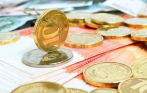 Курс евро на выходные упал больше чем на два рубля