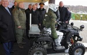 В России пройдут испытания боевого человекообразного робота