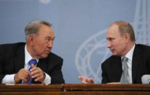 Путин поддержал Назарбаева на президентских выборах в Казахстане