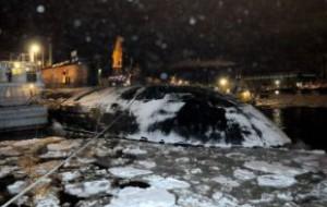 Ущерб от пожара на подлодке «Орел» превысил 100 миллионов рублей