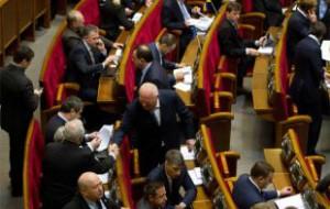 Законопроект о военном положении прошел первое чтение в Верховной Раде
