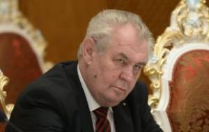 Президент Чехии не примет участие в Параде Победы в Москве
