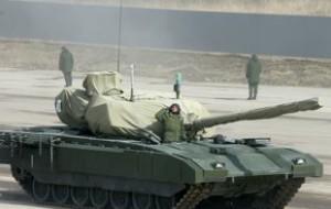 Минобороны впервые показало новый танк Т-14 «Армата»