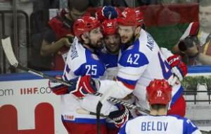 Сборная России по хоккею остается фаворитом чемпионата мира у букмекеров