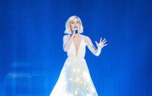 Полина Гагарина выступит на «Евровидении» под номером 25