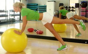 Одно упражнение для тонуса мышц всего тела