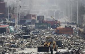 Больше двух десятков человек пропали без вести после взрывов в Китае