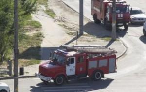 Башня «Федерация» загорелась в Москва-сити