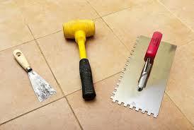 Подготовка основания для укладки керамической плитки