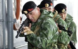 Группу морской пехоты перебросили в Сирию
