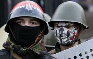 Националисты митингуют в центре Киева