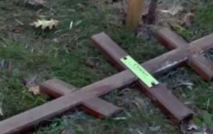 В Польше вновь осквернено кладбище с советскими воинами