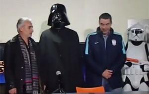 Мексиканский футбольный клуб взял в защитники Дарта Вейдера