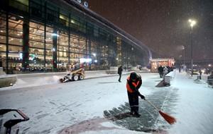 В московских аэропортах из-за циклона отменили почти 70 рейсов