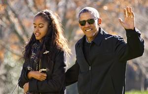 Обама пообещал расплакаться на выпускном дочери
