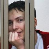 Савченко начала сухую голодовку