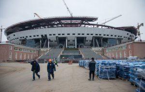 Подрядчик строительства «Зенит-Арены» объявил об остановке работ