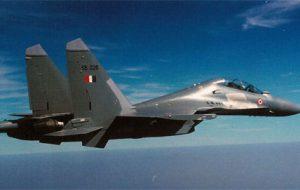 Самолет ВВС Индии разбился во время тренировочного полета