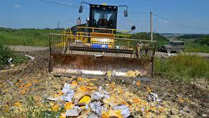 Правительство продлило срок уничтожения санкционных продуктов
