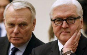 Главы МИД Германии и Франции прибыли на Донбасс