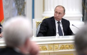 Путин уволил замсекретаря Совета безопасности РФ