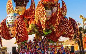 Италия: Виареджо приглашает на карнавал