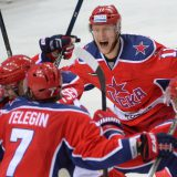 ЦСКА в четвертый раз обыграл «Йокерит» и вышел в 1/4 финала плей-офф КХЛ