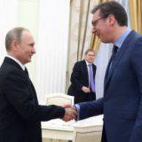 Путин поздравил Вучича с избранием на пост президента Сербии