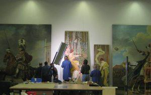 В Музее-заповеднике «Павловск» реставрируют картины чесночным соком
