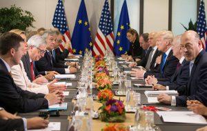 Президент США впервые выступил на саммите НАТО