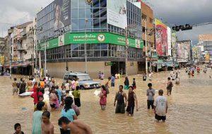 Сезон дождей в Таиланде набирает обороты