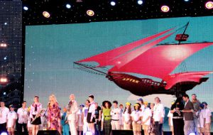Международный детский кинофестиваль «Алые паруса» стартовал в «Артеке»