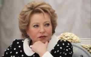 Матвиенко рассказала об ответе на ужесточение правил въезда на Украину