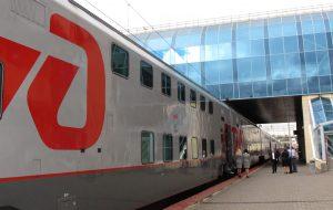Поезд Ростов — Адлер станет частично двухэтажным