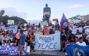 На Гуаме учат, что делать при ядерном ударе