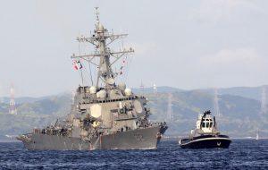 Командующий 7-м флотом США отправлен в отставку с позором