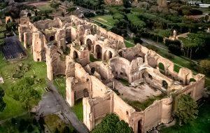Римские Термы Каракаллы открыты для туристов по ночам