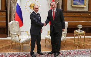 В Анкаре начались переговоры Путина с Эрдоганом