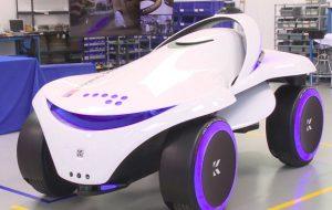 Создан автономный патрульный робот для пересеченной местности