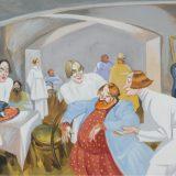 Работы художника Николая Ремизова можно увидеть в Доме русского зарубежья