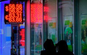 Россияне приготовились к ослаблению рубля